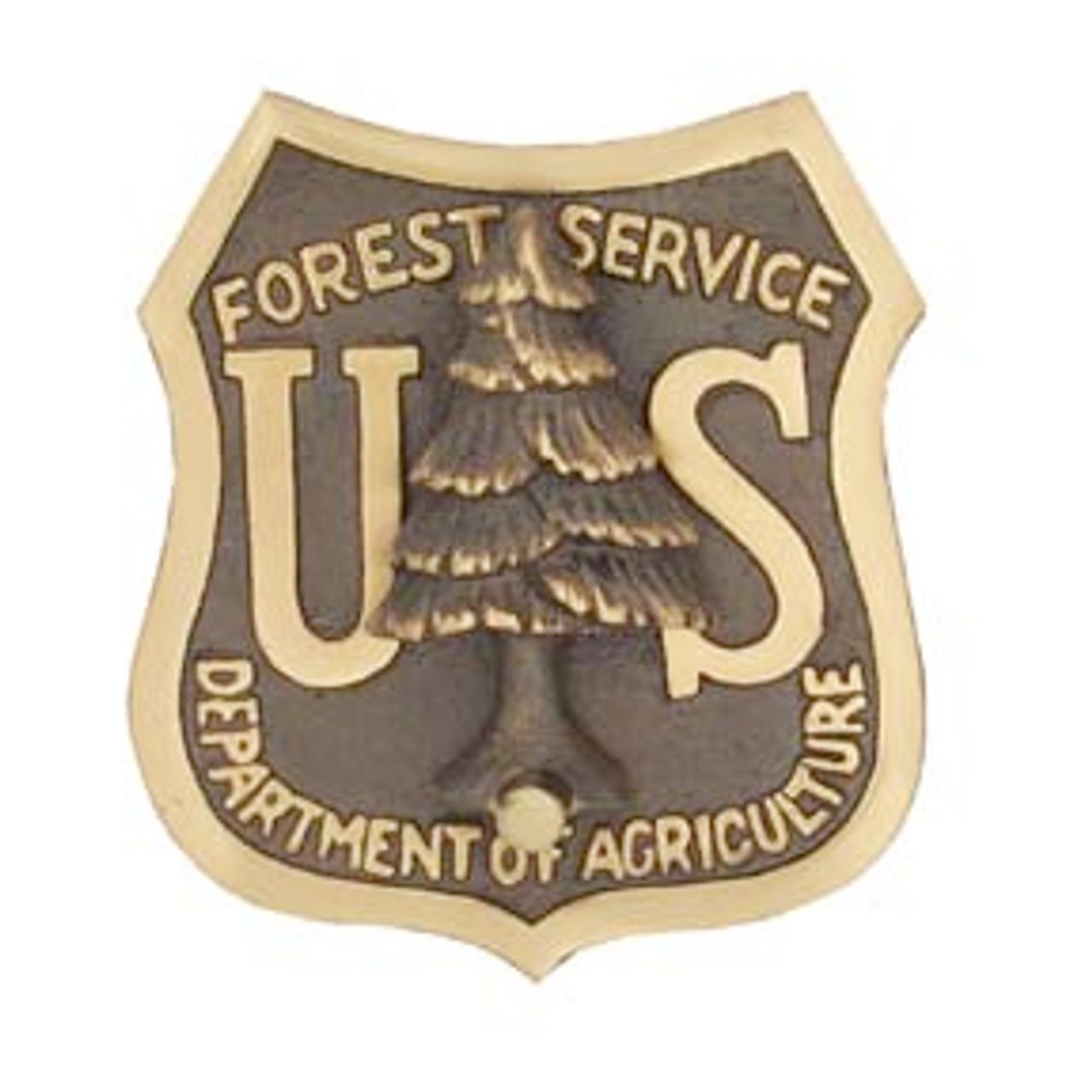 US Forest Service Shield Doorknocker (Bronze)