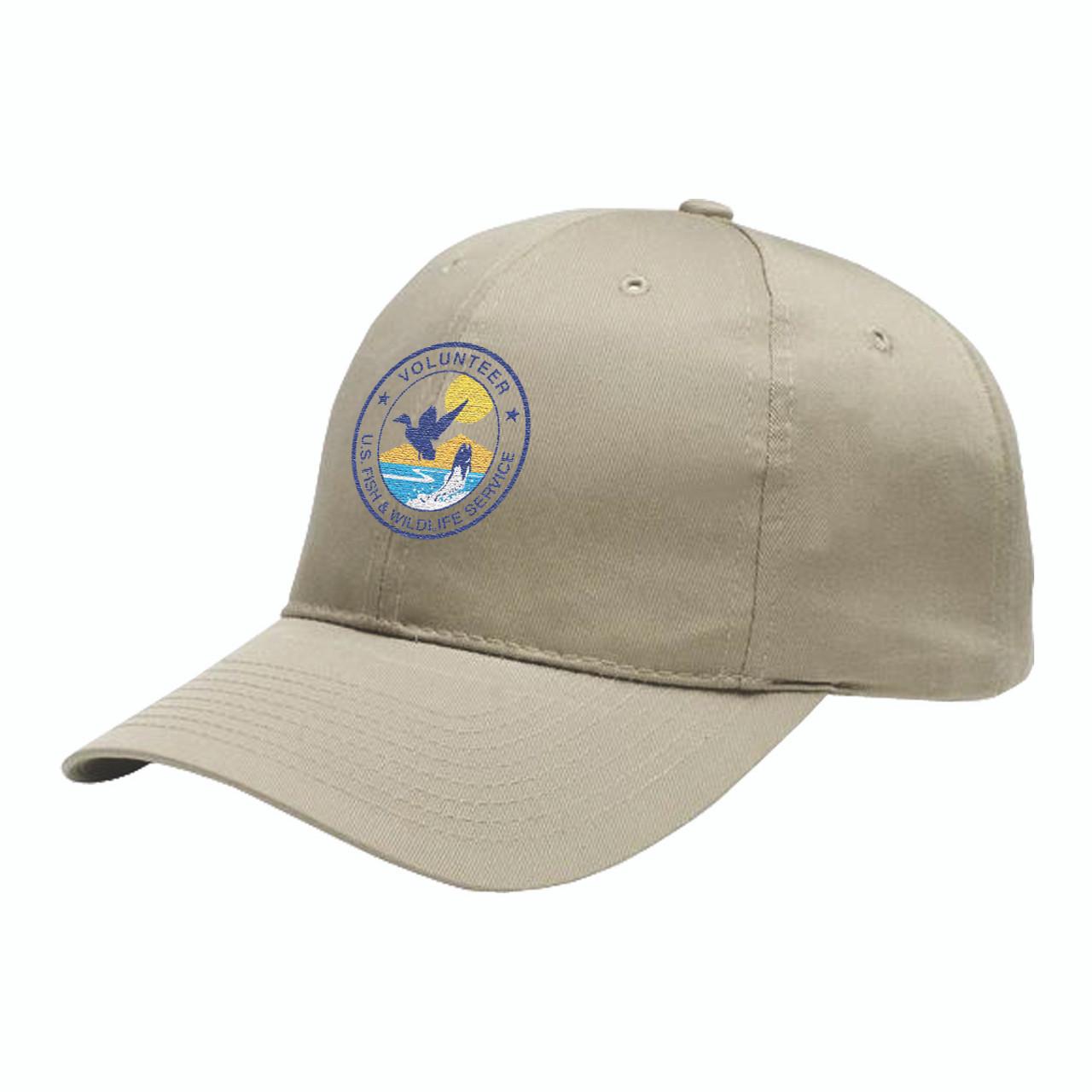 Fish & Wildlife Service Volunteer Cap - Khaki
