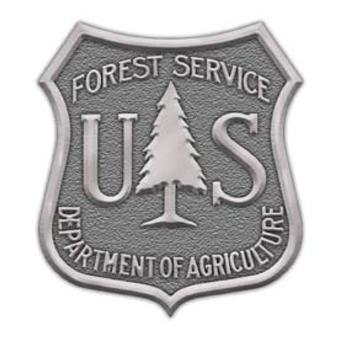 Forest Service Shield Buckle