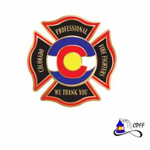 Colorado Fire Fighter Pin