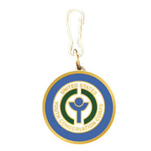 Youth Conservation Corps Zipper Pull