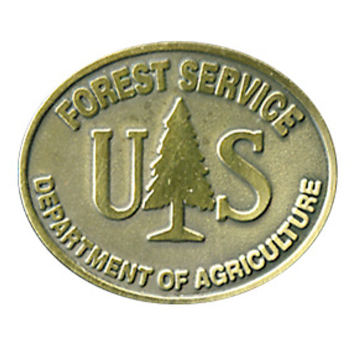 Forest Service Buckle Pin