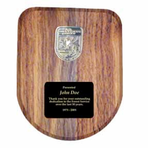 Fish & Wildlife Service Logo Plaque - Customized
