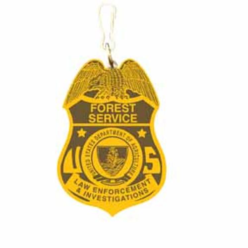 Forest Service LEI Zipper Pull