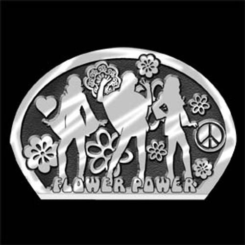 Flower Power Buckle