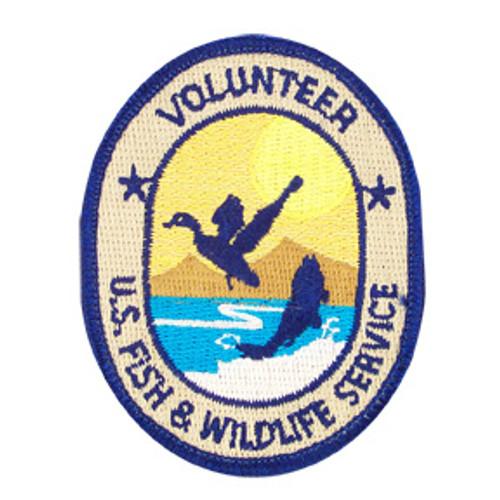 Fish & Wildlife Service Volunteer Patch - Small