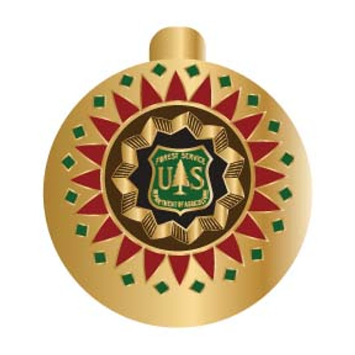 Forest Service Holiday Ornament 2009