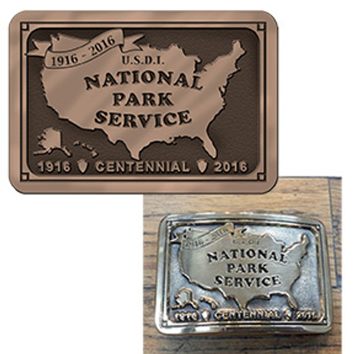 National Park Service Centennial Buckle