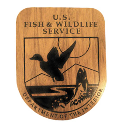 Fish & Wildlife Service Shield Plaque