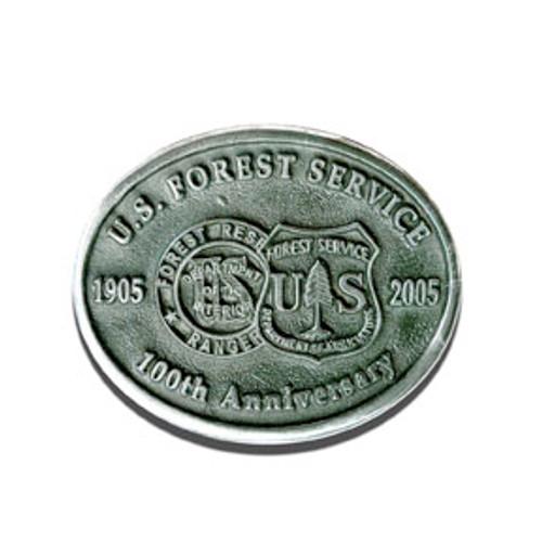 Forest Service 2005 Centennial Buckle
