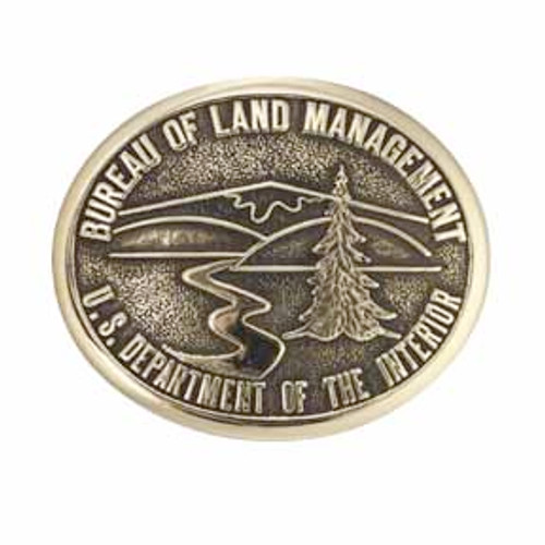 Bureau of Land Management Buckle