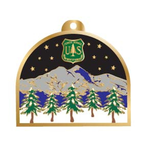 Forest Service Holiday Ornament 2007 - SALE!
