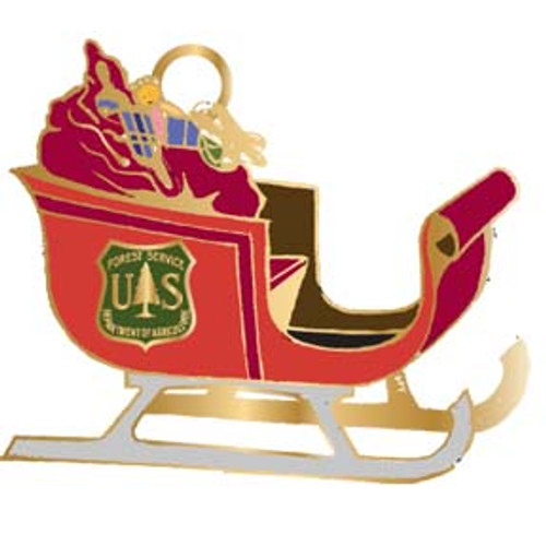 Forest Service Holiday Ornament 2011 -SALE!