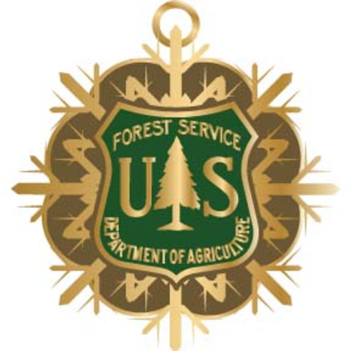 Forest Service Holiday Ornament 2010 - SALE!