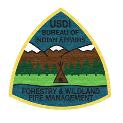 Bureau of Indian Affairs Forestry & Wildland Fire Management  Patch