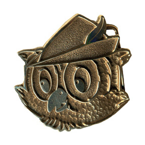 Woodsy Owl Face Buckle