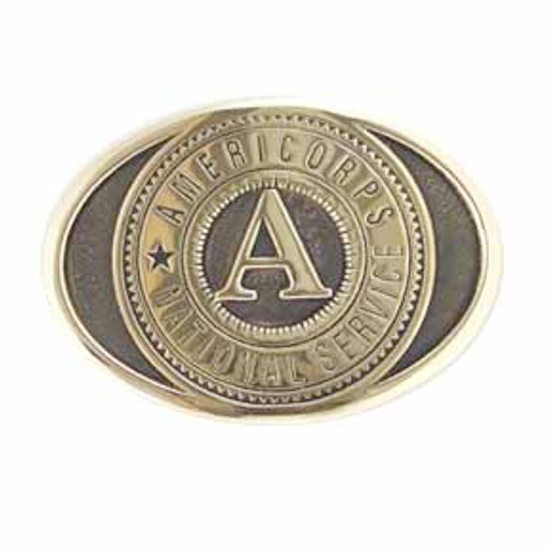 AmeriCorps Buckle