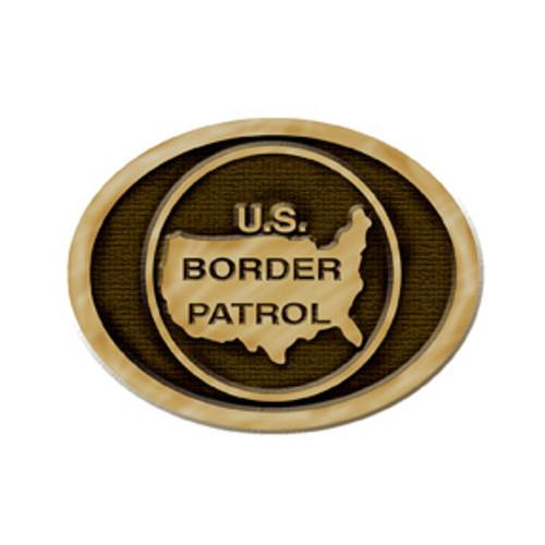 Border Patrol Belt Buckle