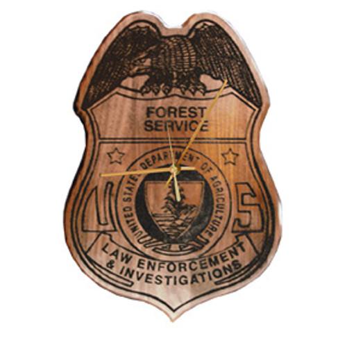 Forest Service Law Enforcement Clock