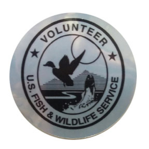 FWS Volunteer Sticker