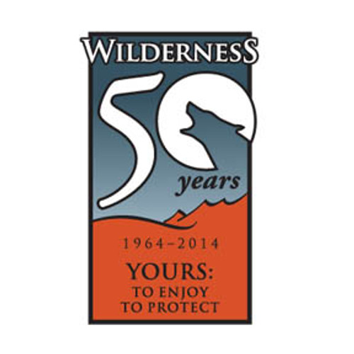 Wilderness 50th Anniversary Pin