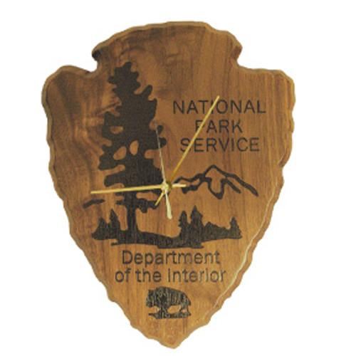 National Park Service Shield Clock