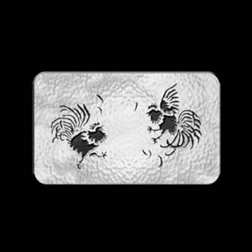 Cock Fight Buckle