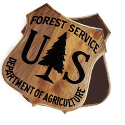 US Forest Service Shield Box
