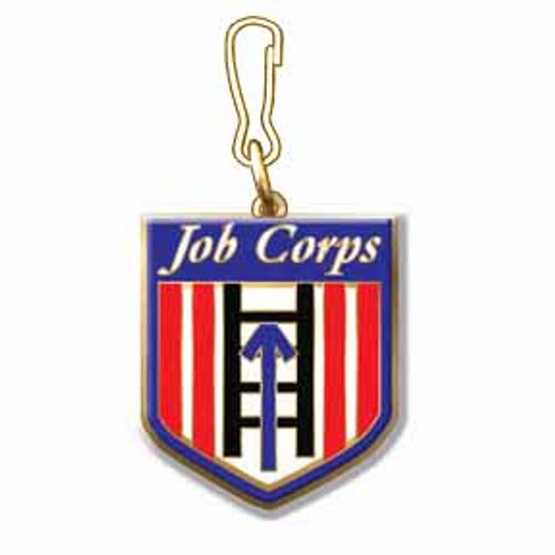 Job Corps Zipper Pull