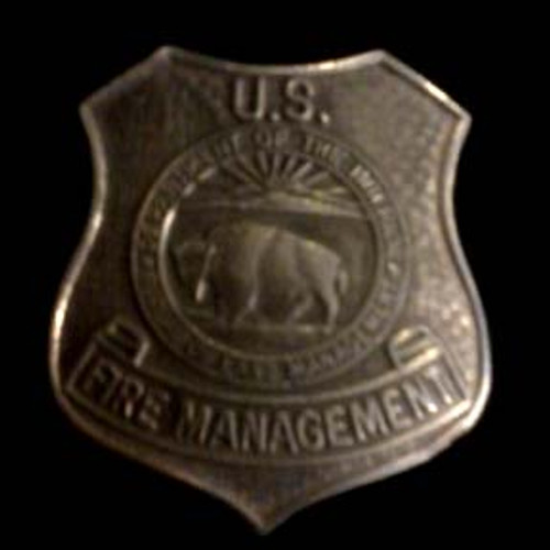 Bureau of Land Management Fire Management Badge