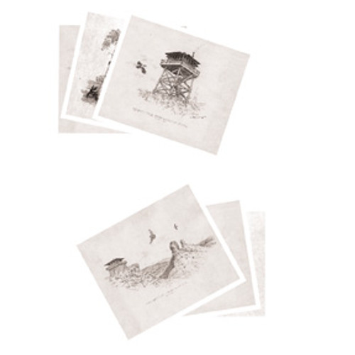 Historical Lookout Collection Notecards
