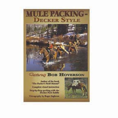 Mule Packing- Decker Style DVD