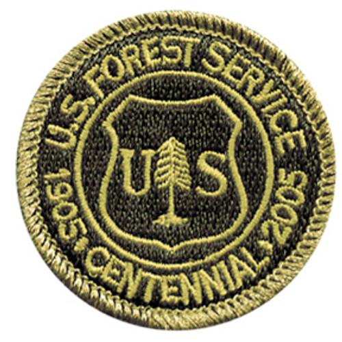 Forest Service  2005 Centennial Patch