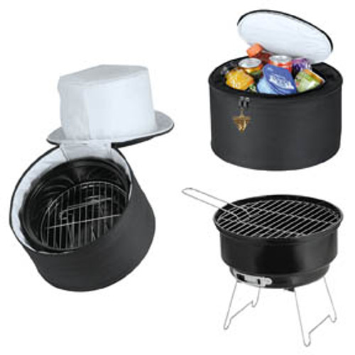 Portable Grill And Cooler (NM)