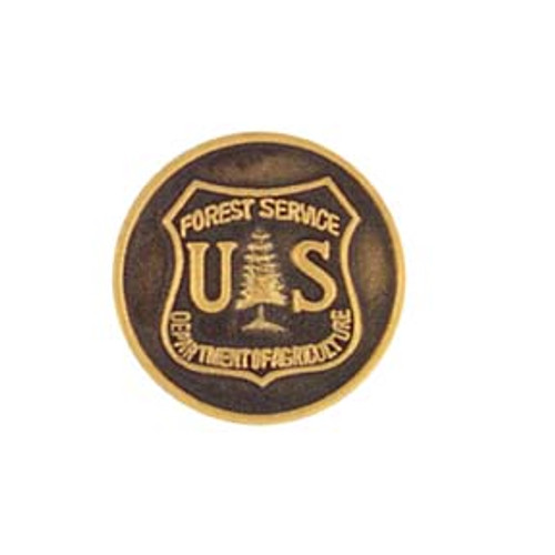 """Forest Service Round Pin (1/2"""")"""