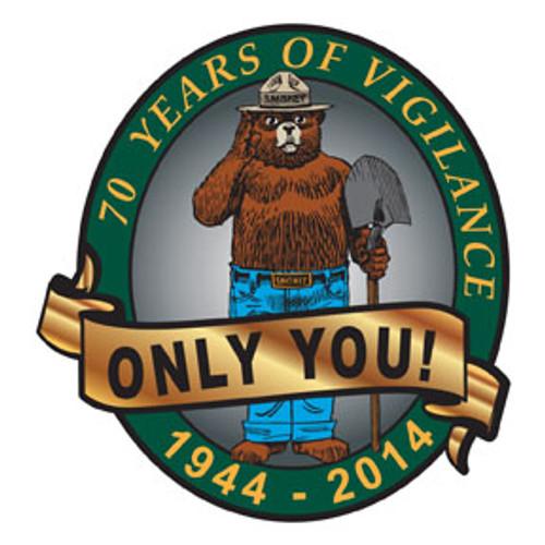 Smokey Bear 70th Anniversary Pin