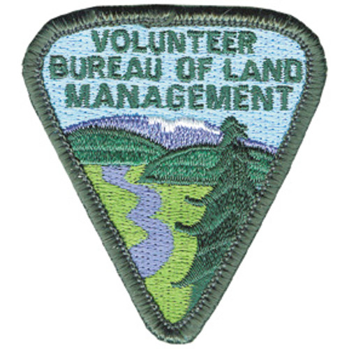 Bureau of Land Management Volunteer Patch