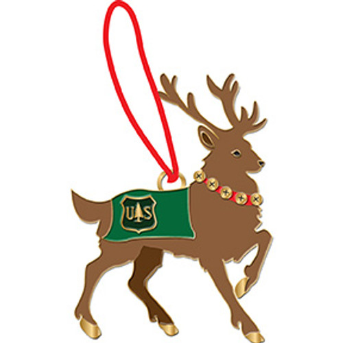 Forest Service Holiday Ornament 2014