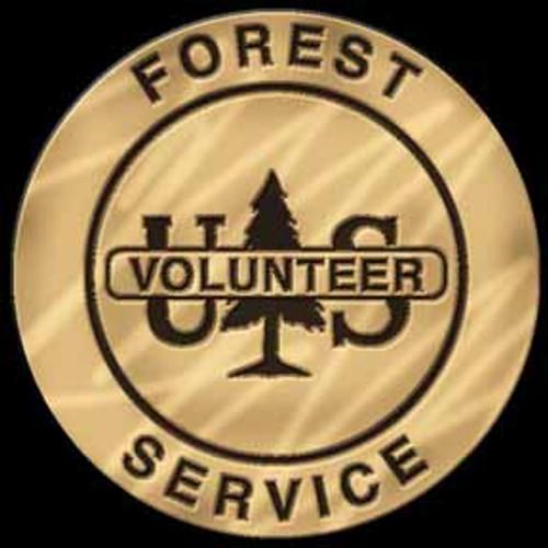 Forest Service Volunteer Badge