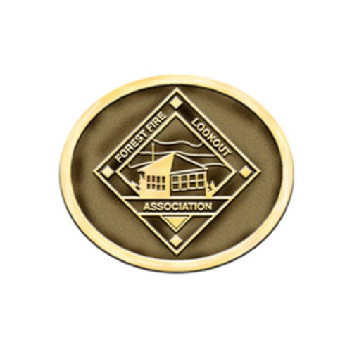 Forest Fire Lookout Assoc Buckle