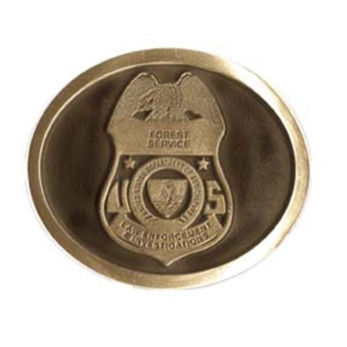 Forest Service LEI Belt Buckle
