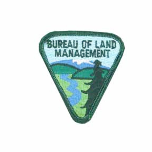 Bureau of Land Management Patch with Full Text