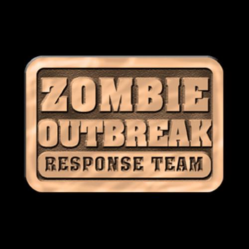 Zombie Outbreak Response Team Buckle