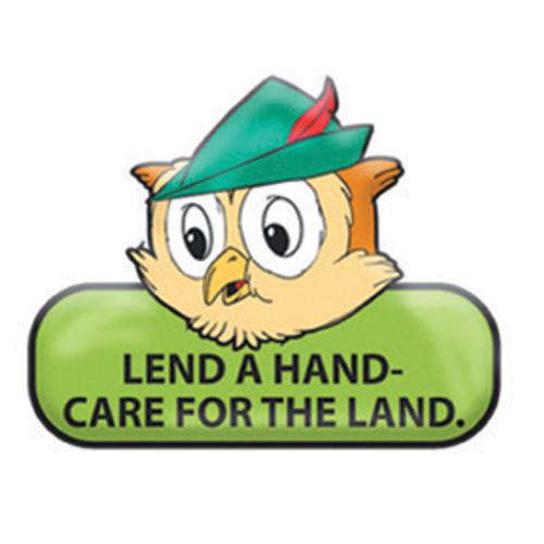 Woodsy Slogan Color Enamel Pin