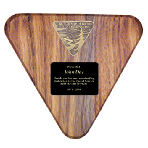 Bureau of Land Management Logo Plaque - Customized