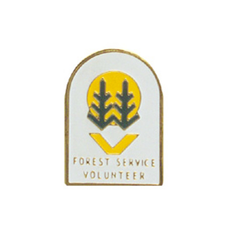 US Forest Service Volunteer Lapel Pin