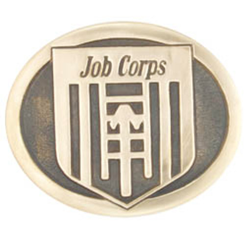 Job Corps Belt Buckle