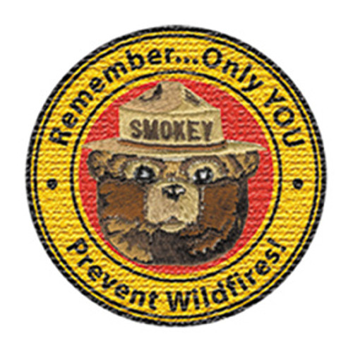 Smokey Bear Patch
