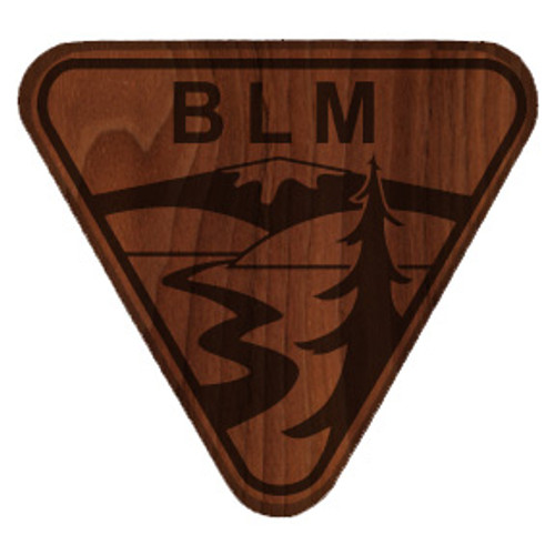 Bureau of Land Management Shield Plaque