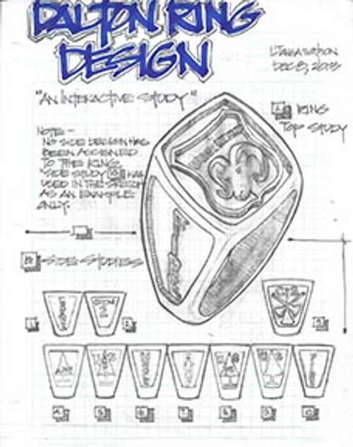 Custom Sterling Silver Ring